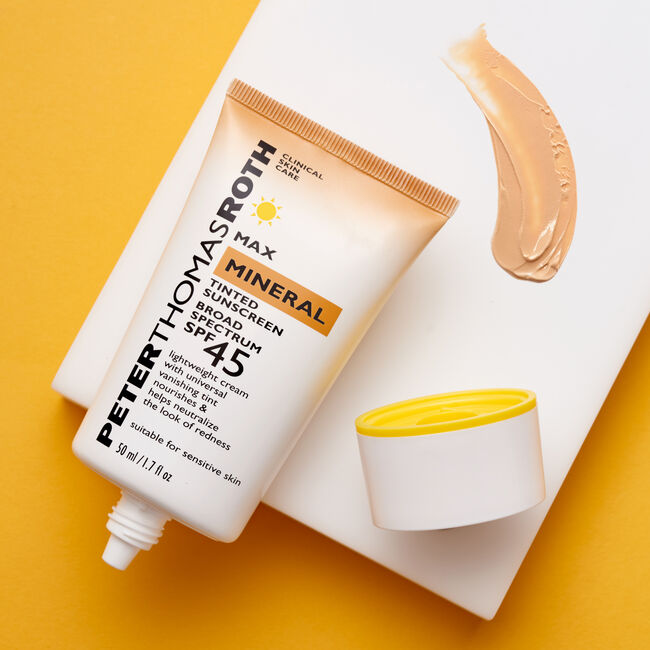 Max Mineral Tinted Sunscreen Broad Spectrum SPF 45