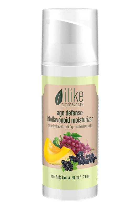 Age Defense Bioflavonoid Moisturizer by Ilike Organic Skin Care 50ml