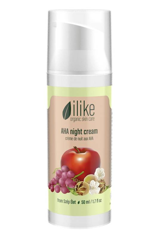 AHA Night Cream by Ilike Organic