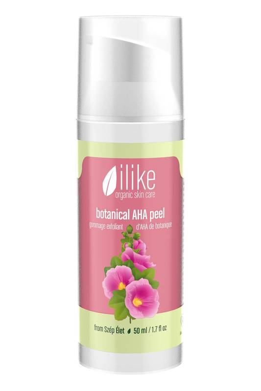 Botanical AHA Peel by Ilike Organic Skin Care 50ml