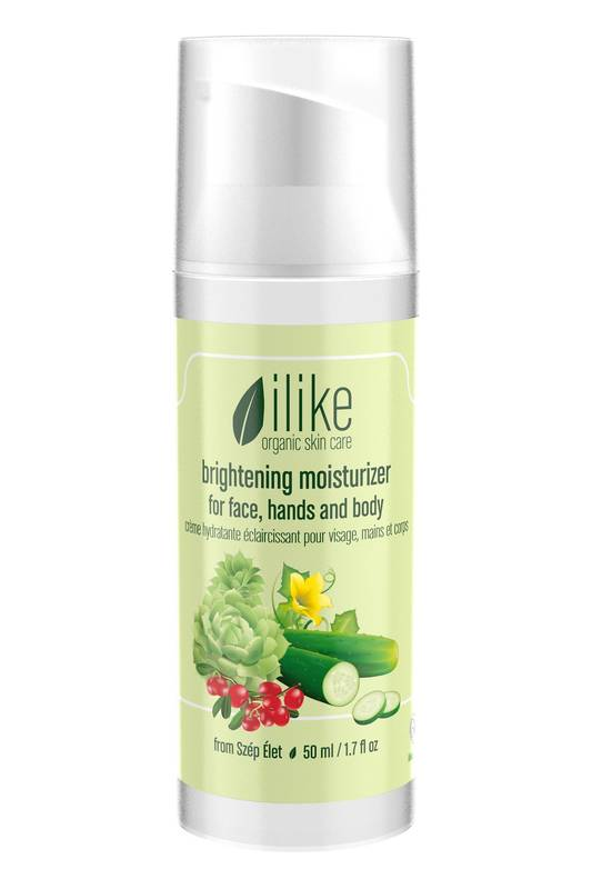 Brightening Moisturizer by Ilike Organic Skin Care