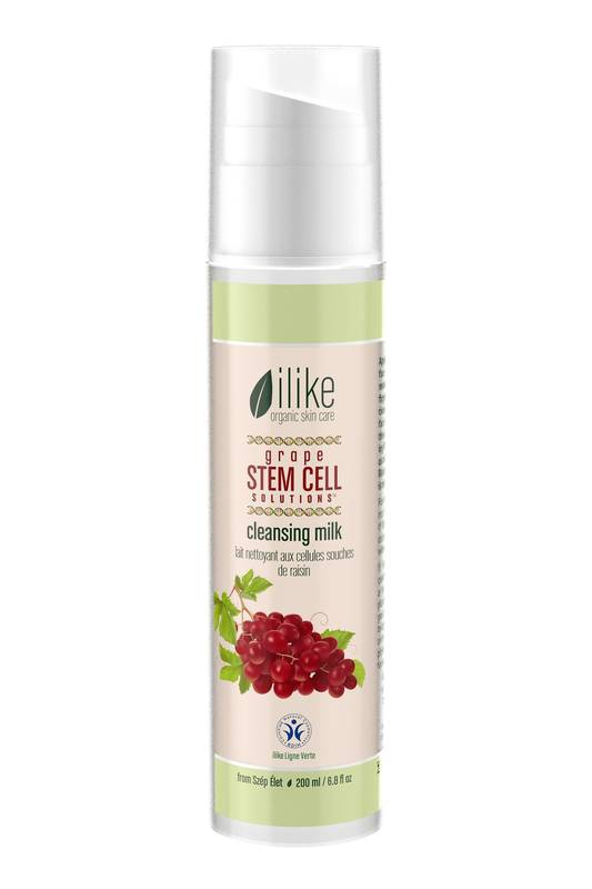 Grape Stem Cell Solutions Cleansing Milk by Ilike Organic Skin Care 250ml