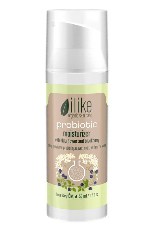 Probiotic Moisturizer with Elderflower and Blackberry by Ilike Organic