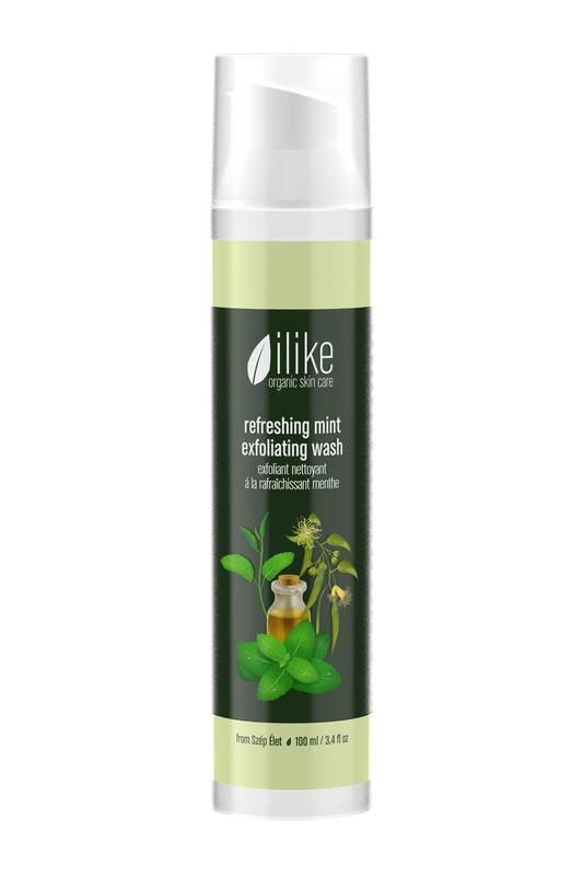 Refreshing Mint Exfoliating Wash by Ilike Organic Skin Care