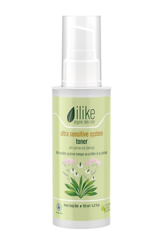 Ultra Sensitive System Toner by Ilike Organic Skin Care 125ml