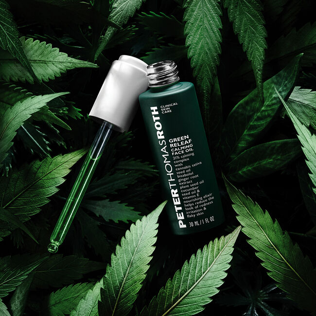 Green Releaf Calming Face Oil by Peter Thomas Roth