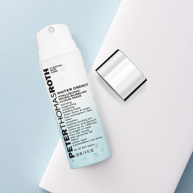 Water Drench Hyaluronic Micro-Bubbling Cloud Mask by Peter Thomas Roth