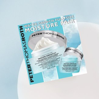 Water Drench Full-Size Moisture Pair 2-Piece Kit by Peter Thomas Roth
